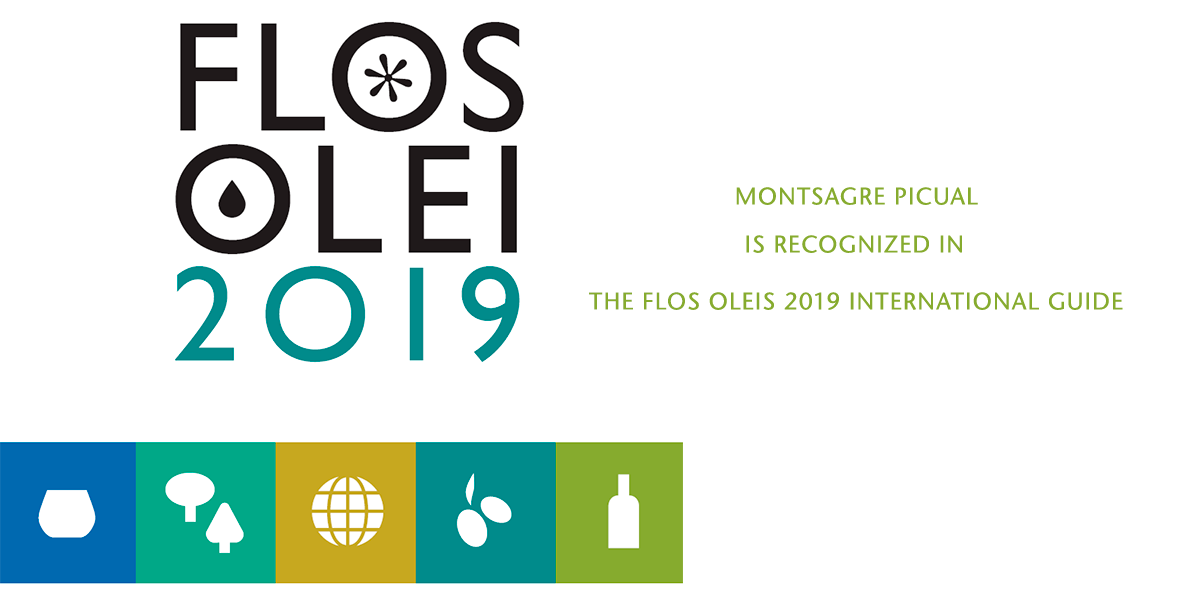 MONTSAGRE PICUAL OIL IS RECOGNIZED IN THE FLOS OLEIS 2019 INTERNATIONAL GUIDE