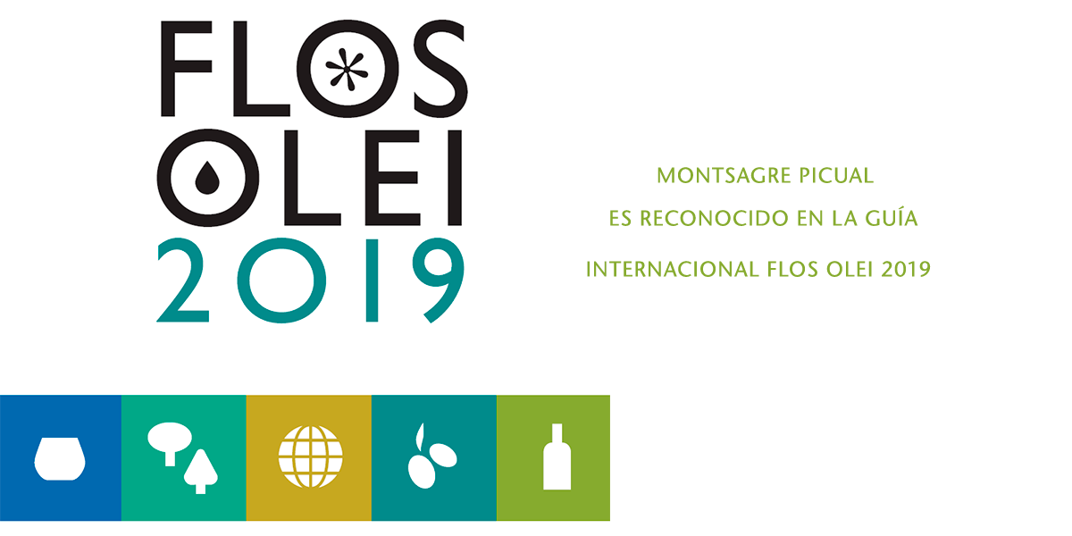 EL ACEITE MONTSAGRE PICUAL ES RECONOCIDO EN LA GUÍA INTERNACIONAL FLOS OLEI 2019