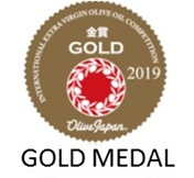 Montsagre Picual Gold medal Olive Japan IOOC 2019
