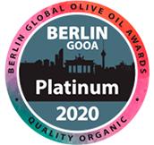 Montsagre Picual premio platino Berlín GOOA 2020